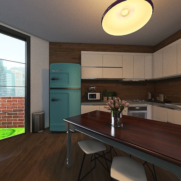 FLOW PASTEL Interior Design Render