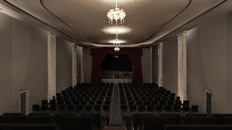 Concert Hall Interior Design Render