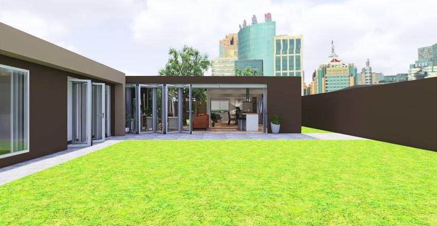 House GE7 Interior Design Render