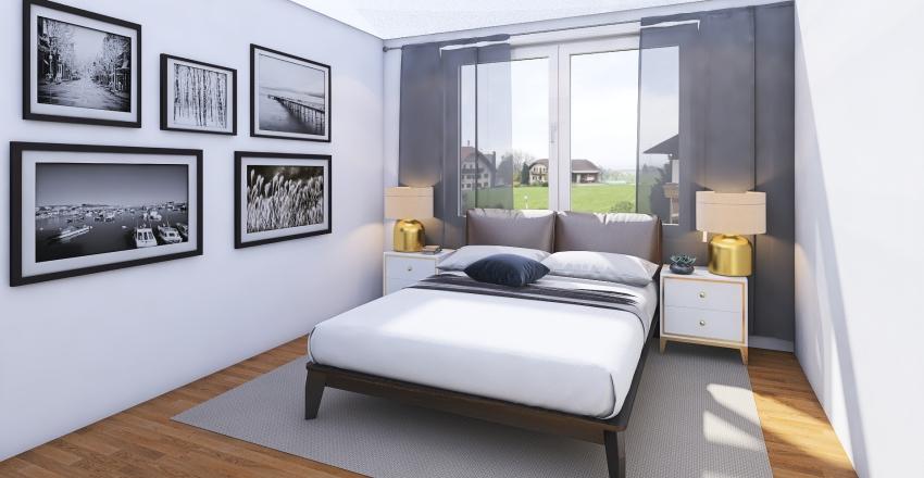 mieszkanie wyszynskiego , rokład na górze  Interior Design Render