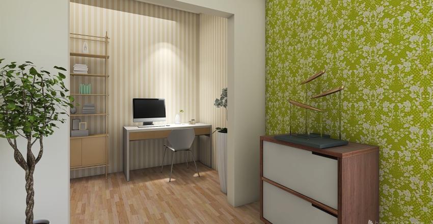 Pastel contemporary  Interior Design Render