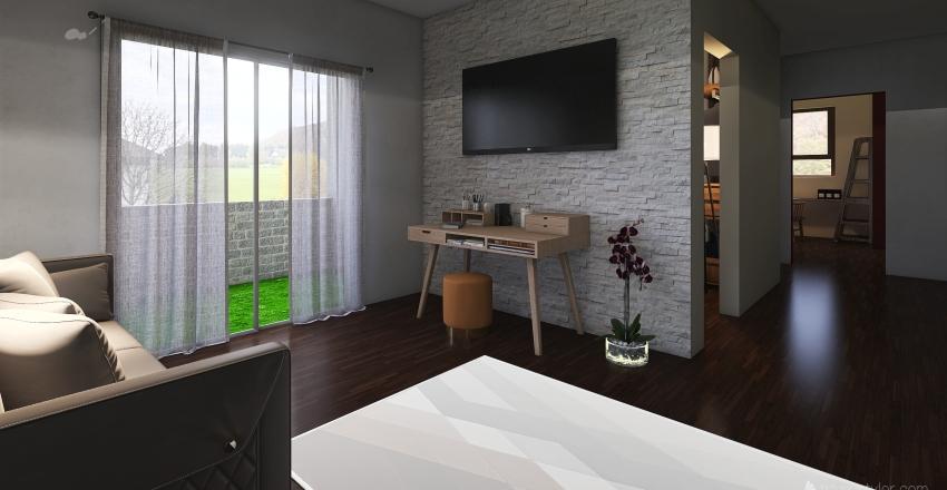 04.10 DA FINIRE 70mq Interior Design Render