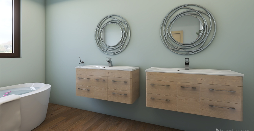 Simply natural  Interior Design Render