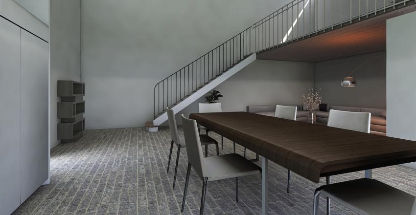 Industrial da affitt Interior Design Render