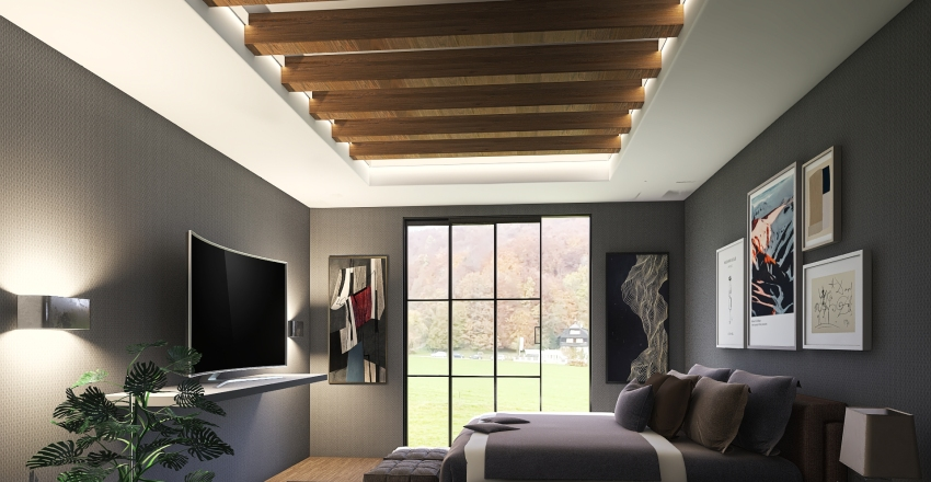 Village no.3 Interior Design Render