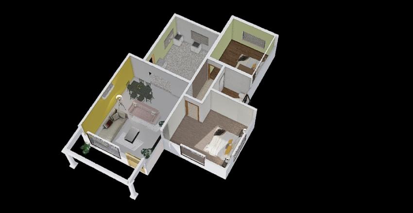 michael mogale Interior Design Render