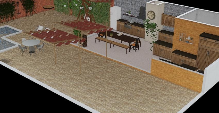 area gourmet Interior Design Render