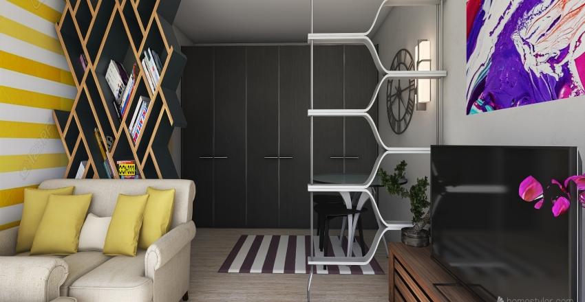 flat in Sevojno Interior Design Render