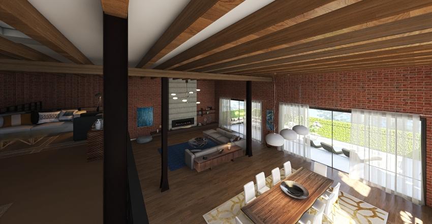 Loft V2.0 Interior Design Render