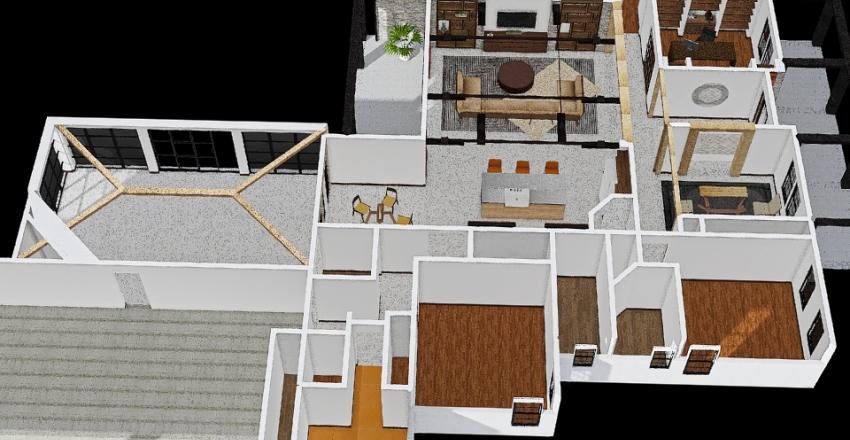 veranda Interior Design Render