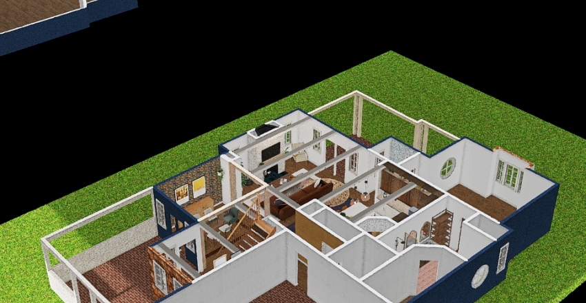 lawncrest Interior Design Render