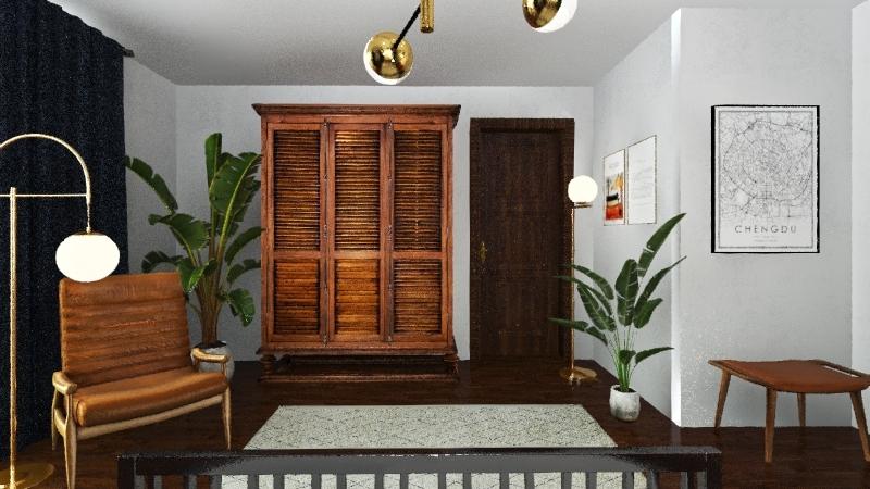 B E D R O O M  Interior Design Render