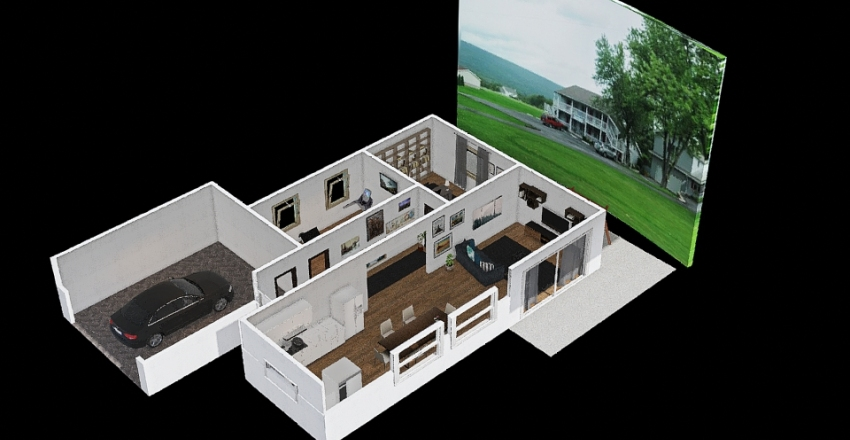 House floor1 Interior Design Render