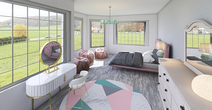 2 Story Elevation Home Interior Design Render