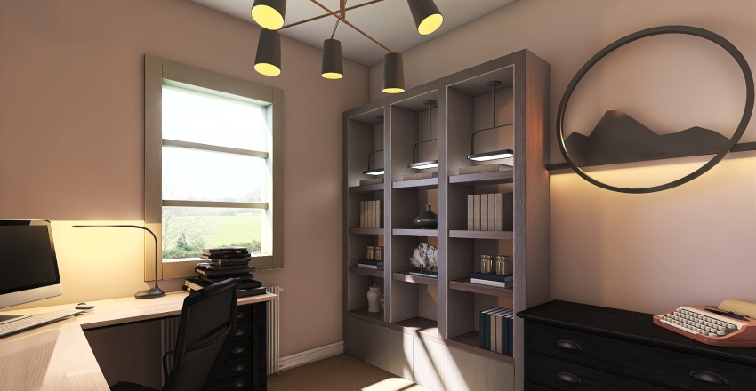 Plan for New House (Building Complete Oct 2019) Interior Design Render