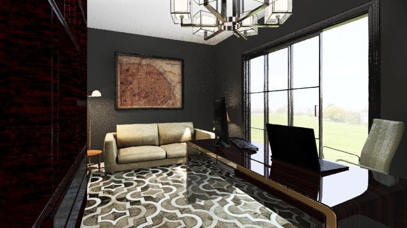 Oficina Rogers Interior Design Render