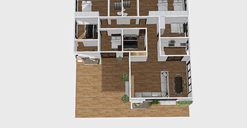 MY HOUSE 4 Interior Design Render