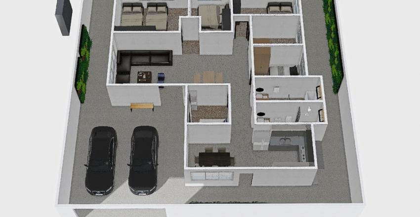 MH3 : 180 ตรม Interior Design Render
