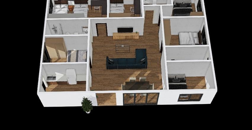 MH2 : 170 ตรม Interior Design Render