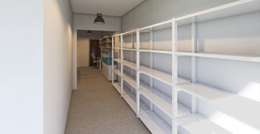 PBM Baltic workshop Interior Design Render