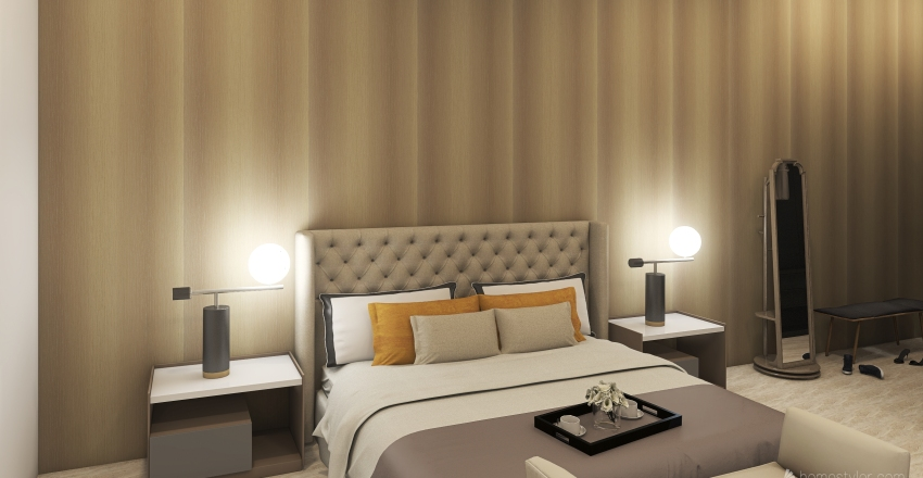 Rest House V4 2sc level Interior Design Render