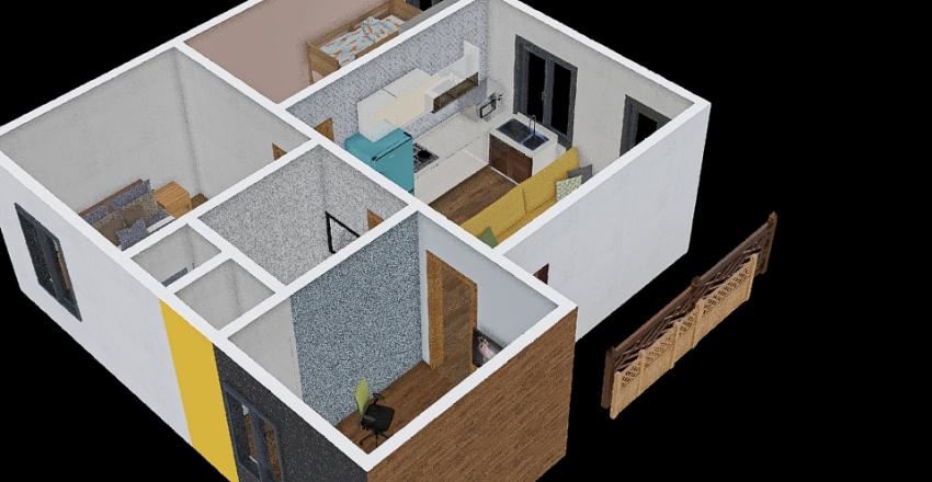 Casa Los JaraVi Interior Design Render