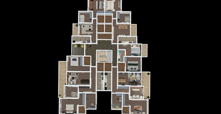 BELL TOWER Interior Design Render