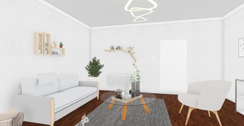 Room Interior Design Render
