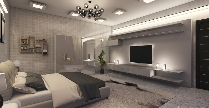 Apartment 1 Interior Design Render