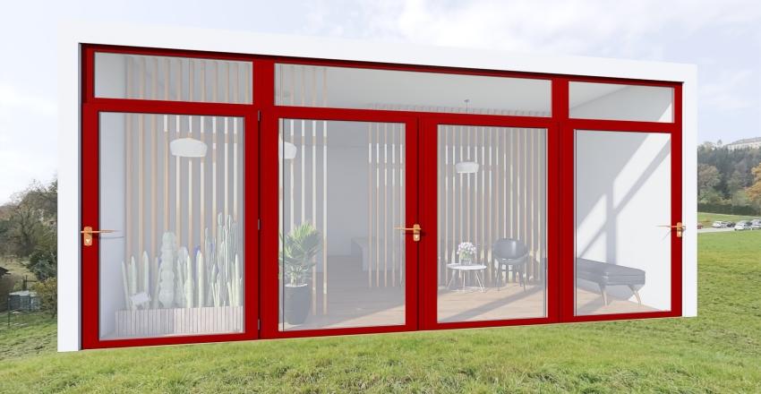 pilates Interior Design Render