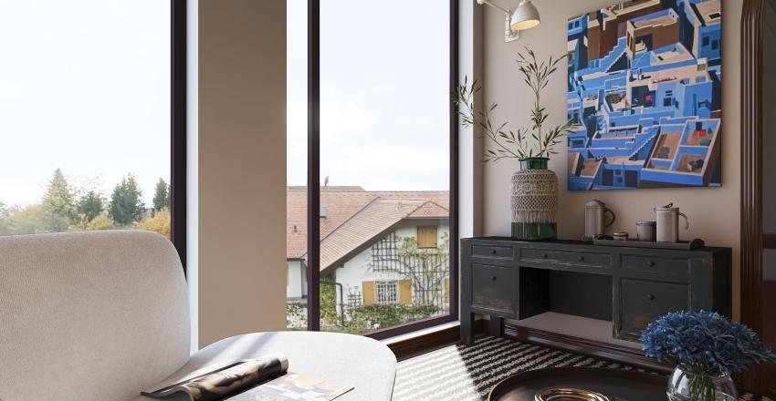 Luxury Lounging Space in Porto, Portugal Interior Design Render