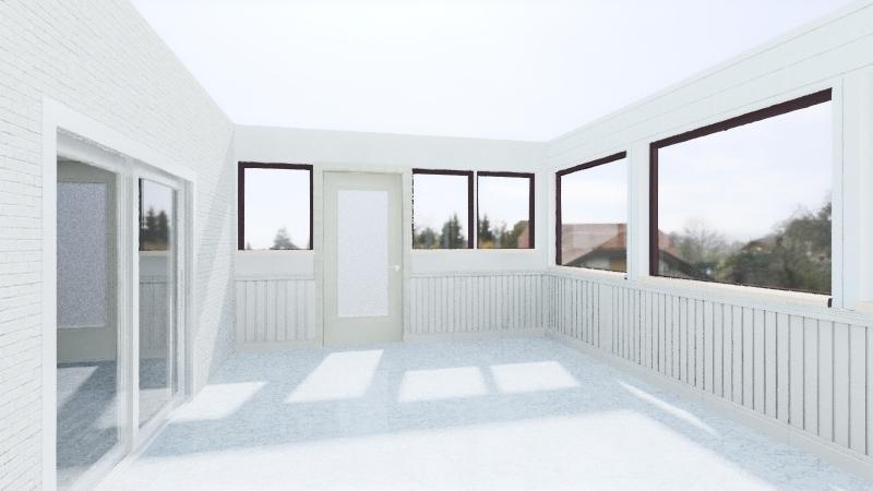 Screen Porch 1 Interior Design Render