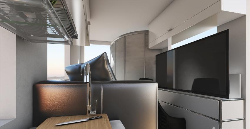 Ford Transit L4 Convertible Interior Design Render