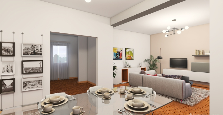 CASA DI SONIA& Interior Design Render
