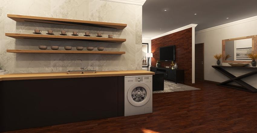 MR GREYS APARTMENT Interior Design Render