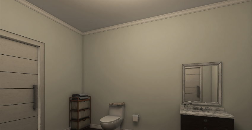 2bed 2bath Family Home w/ Lots of Space  Interior Design Render