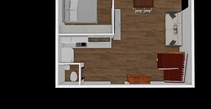 P1 - kibel w rogu Interior Design Render