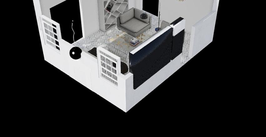 Room Case Study Thays Couto  Interior Design Render