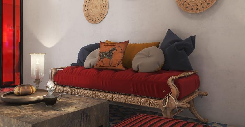 HSDA2020Commercial  MOROCCAN INSPIRED HOTEL Interior Design Render