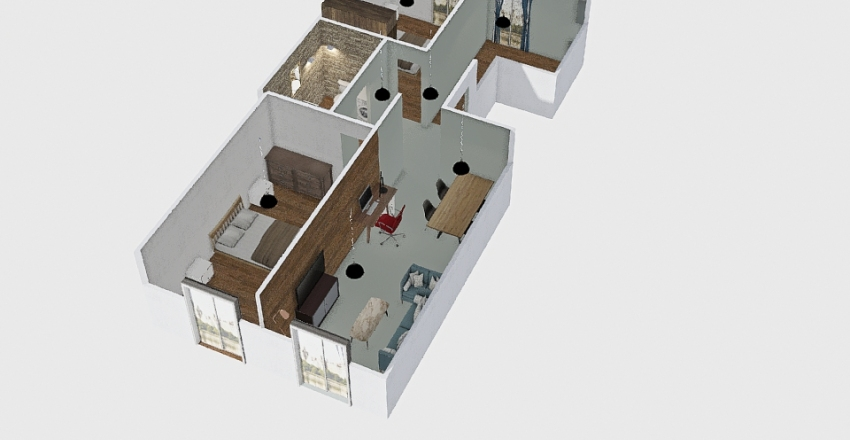 GARAS-PROTASI Interior Design Render