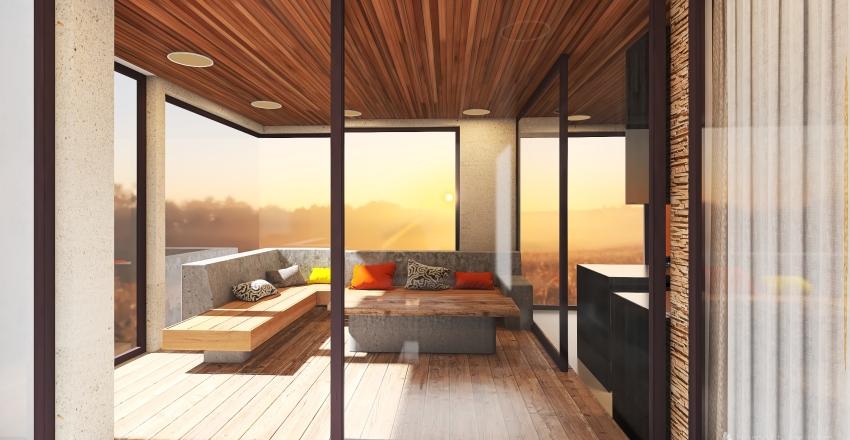 Villa Villa Interior Design Render
