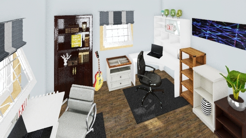 Office 2 Interior Design Render