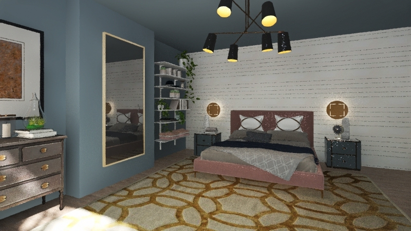 Bedroom test Interior Design Render