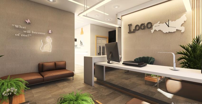 dr, omer Interior Design Render