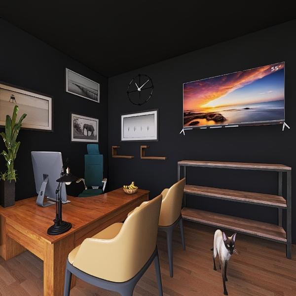 Grizzly Studio Interior Design Render