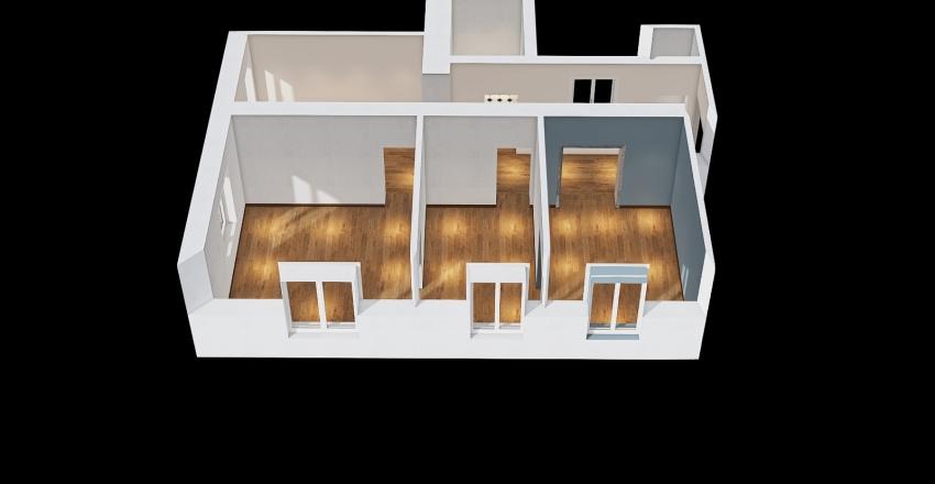 APARTMAN SAJKAS  2 Interior Design Render