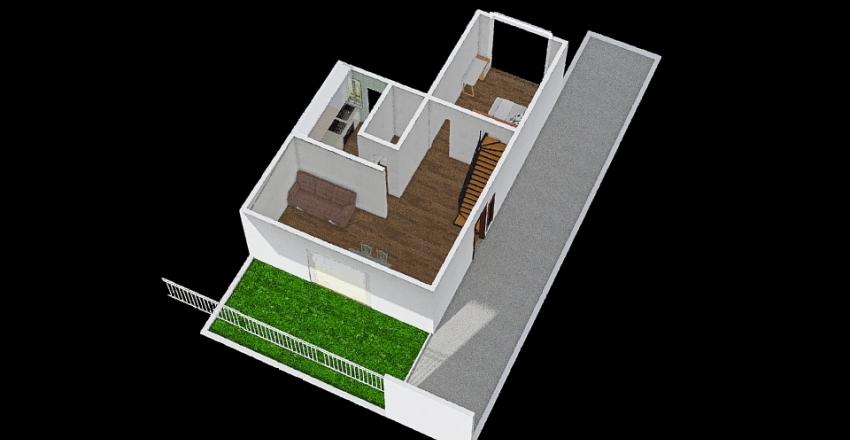 Peatones Interior Design Render