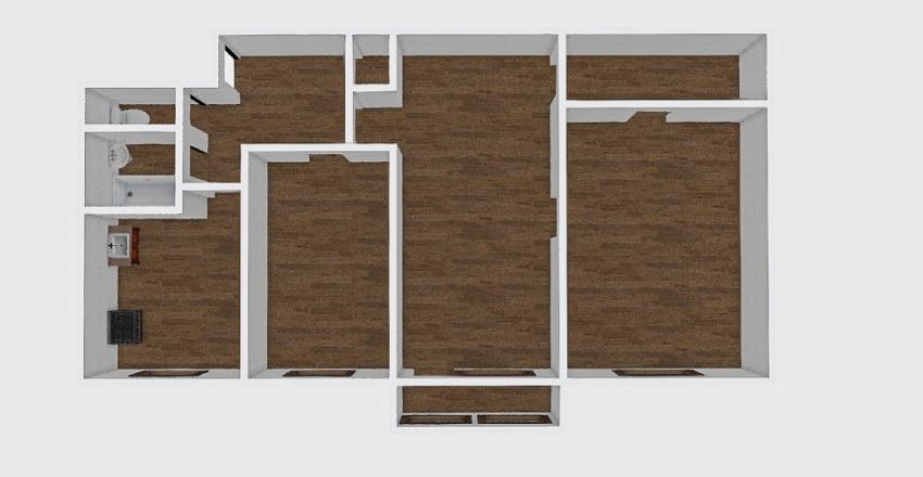 3-комн_0177_6 Interior Design Render
