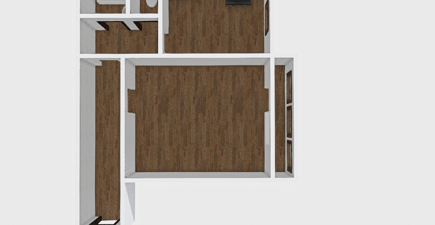 1-комн_0306_1 Interior Design Render