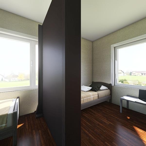 Pokój studencki 2os Interior Design Render